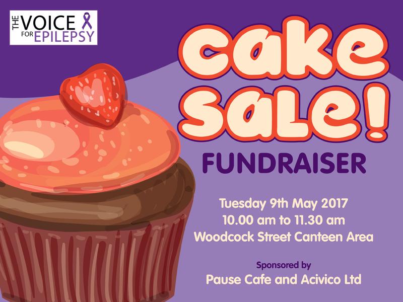 cake sale fundraiser epilepsy