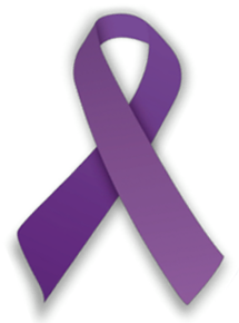 epilepsy purple ribbon