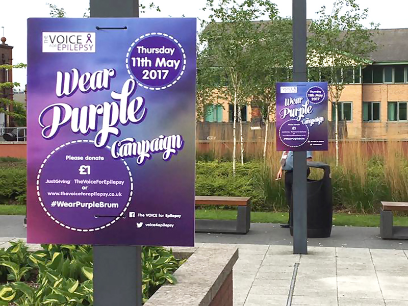 wear purple campaign