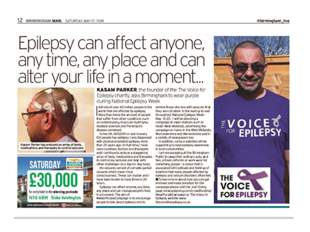 birmingham mail the voice for epilepsy