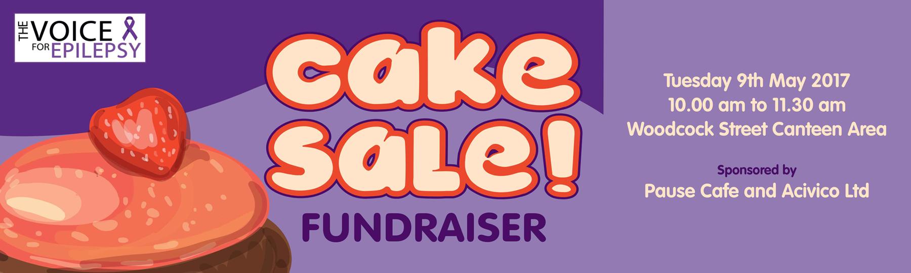 cake sale banner