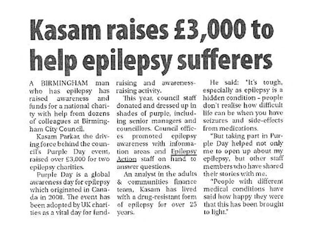 kasam raises 3000 birmingham post