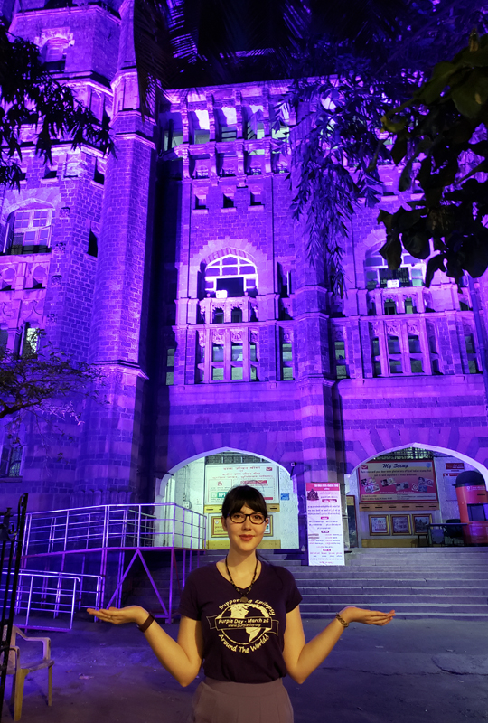 purple day founder