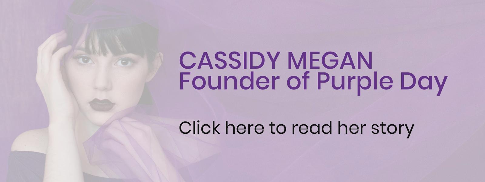 read cassidy megan story