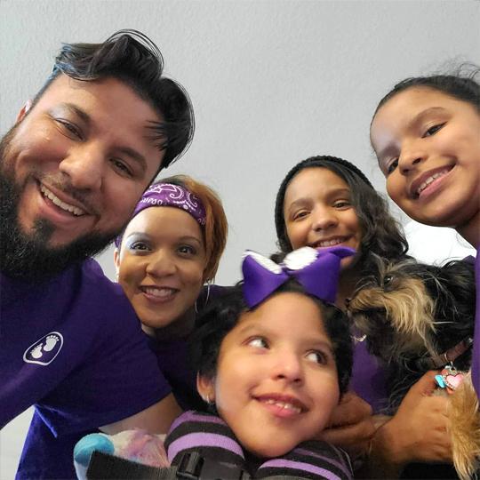 purple day 13