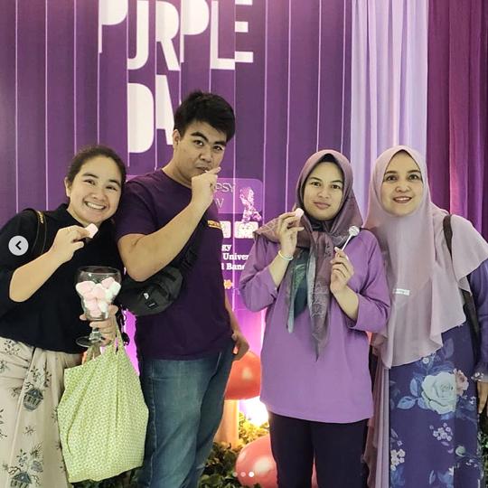 purple day 25