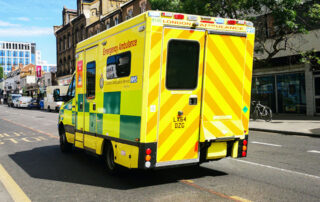 When should an ambulance be called