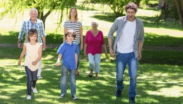 walk family