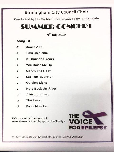 birmingham choir summer concert