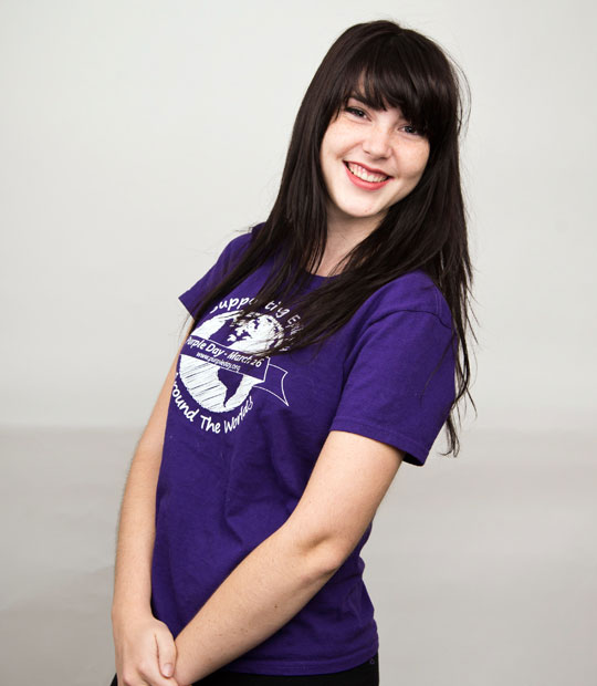 cassidy megan purple day founder