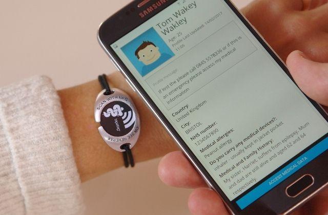 tap2tag medical alert app