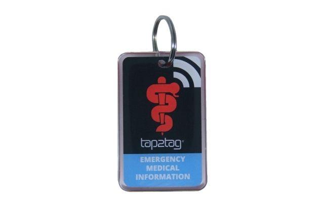 tap2tag medical alert keyfob