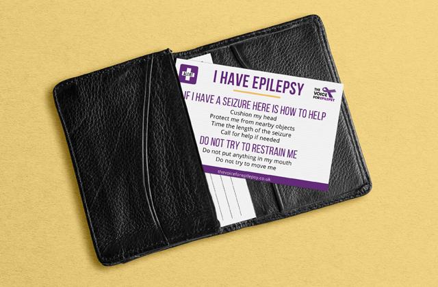 Epilepsy Medical Information Card